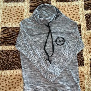 Sweaters - Marble gray sweatshirt